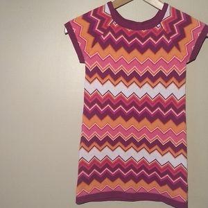 "Crazy 8 ""Missoni Print Style"" Knit Dress"